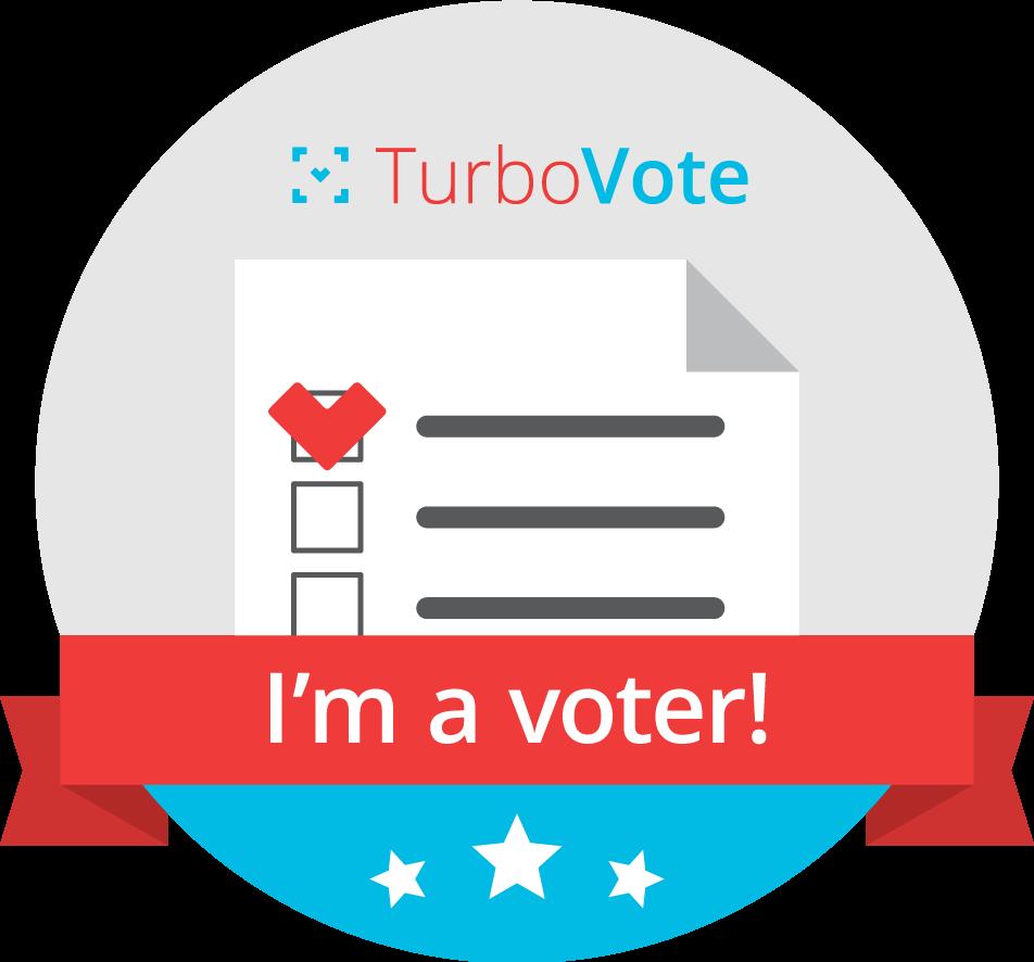 Turbo Vote: I'm a voter!